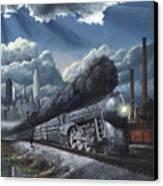 Eastbound Twentieth Century Limited Canvas Print