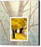 Eastern Autumn Canvas Print