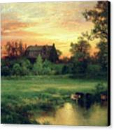 Easthampton Canvas Print by Thomas Moran