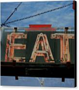 Eat Canvas Print by Jame Hayes