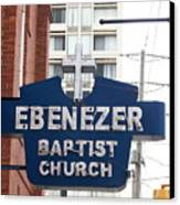 Ebenezer Baptist Church Canvas Print by Kevin Croitz