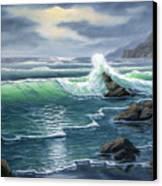 Ebtide Canvas Print by Lorraine Foster