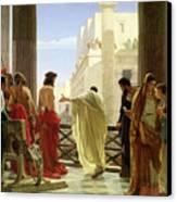 Ecce Homo Canvas Print by Antonio Ciseri