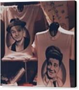 Ed And Ralphie Boy Canvas Print