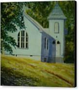 Edgemont Baptist Church Canvas Print