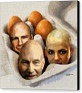 Eggheads Canvas Print by Anthony Caruso