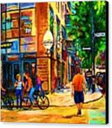 Eggspectation Cafe On Esplanade Canvas Print