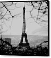 Eiffel Eyeful Canvas Print