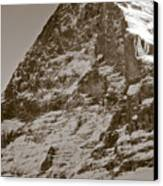Eiger North Face Canvas Print