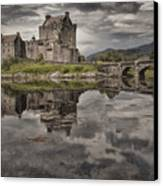 Eilean Donan Castle 3 Canvas Print by Wade Aiken