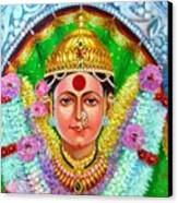Ekvira Devi Canvas Print by Kalpana Talpade Ranadive