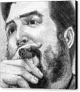 El Che Canvas Print by Roberto Valdes Sanchez