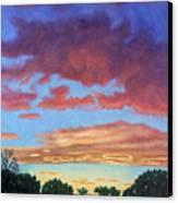 El Dorado Sunset Canvas Print