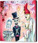 El Matrimonio Canvas Print by Heather Calderon