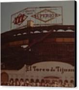 El Toreo De Tijuana Canvas Print