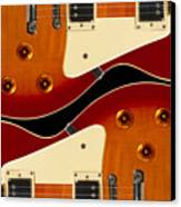 Electric Guitar II Canvas Print by Mike McGlothlen