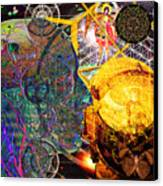 Electromagnetic Lighthouse Thirdeye Portal Canvas Print