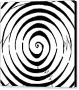 Eliptical Maze Canvas Print