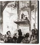 Elisha Graves Otis 1811-1861 Canvas Print
