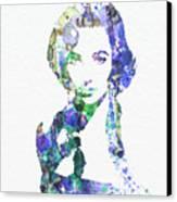 Elithabeth Taylor Canvas Print