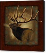 Elk Lodge Canvas Print