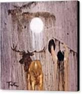 Elk Spirit Canvas Print