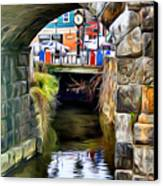 Ellicott City Bridge Arch Canvas Print