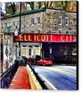 Ellicott City Canvas Print