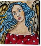 Ellie Canvas Print by Rain Ririn