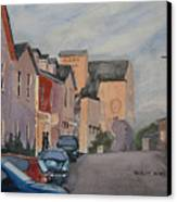 Elora Dusk Canvas Print
