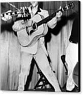 Elvis Presley, C. Mid-1950s Canvas Print by Everett