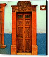 Embellished Puerta Canvas Print