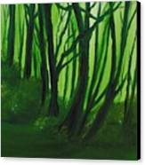 Emerald Forest. Canvas Print