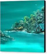 Emerald Isle 2 Canvas Print