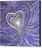 Emerging Heart Canvas Print