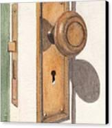 Emily's Door Knob Canvas Print