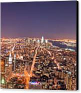 Empire State Building 86th Floor Observatory Canvas Print by James DiBianco Jr