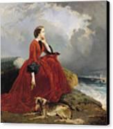 Empress Eugenie Canvas Print by E Defonds