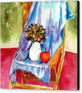 Empty Chair Canvas Print by Zara GDezfuli