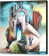 Enchanted Island Canvas Print