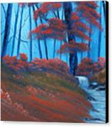Enchanted Surrealism Canvas Print by Cynthia Adams