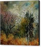 End Of Winter Canvas Print