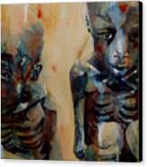 Endangered Spieces Canvas Print