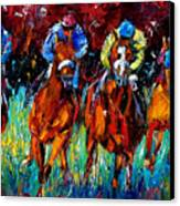 Endurance Canvas Print by Debra Hurd