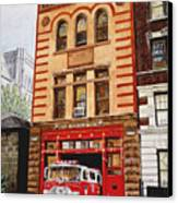 Engine Company 47 Canvas Print