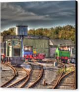 Engine Sheds Quainton Road Buckinghamshire Railway Canvas Print