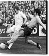 England: Soccer Match, 1972 Canvas Print by Granger