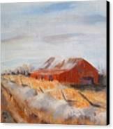 Entering Choteau County Canvas Print