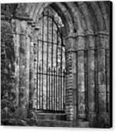 Entrance To Cong Abbey Cong Ireland Canvas Print