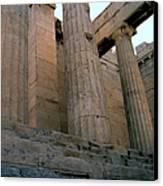 Entrance To Past Life   Acropolis Canvas Print
